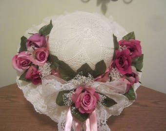 Vintage Inspired Handmade Hat