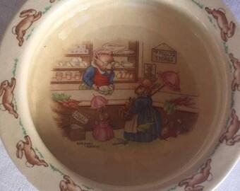 Bunnykins Breakfast Bowl by Royal Doulton