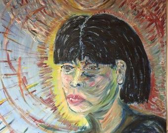 Portrait de son intensité (baignade à la lumière du sahasrara)