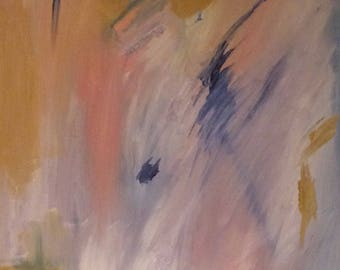 16X20 Original Abstract Art, Oil Painting on Canvas