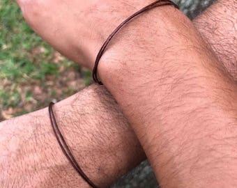 Father Son Bracelets Couples Bracelets Set of bracelets Boyfriend Girlfriend Bracelets Matching Bracelets Leather For him 4th of july sale