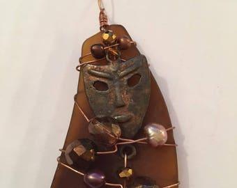 Beer Bottle Copper Mask