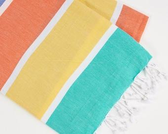 Festive - Multi-Colour Turkish Towel