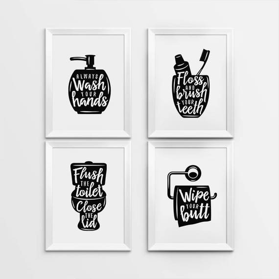 Crazy image pertaining to free printable wall art for bathroom