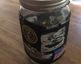 Military mason jars