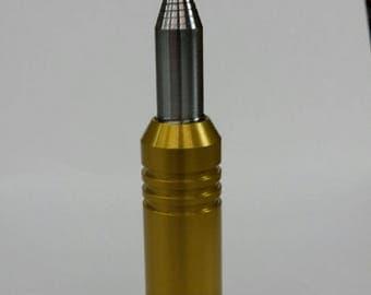 Reversible Bullet Clam/Oystert Knife & Bottle Opener