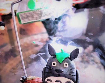 Polymer clay Totoro