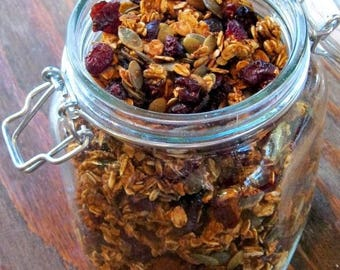 Granola Box filled with the best that nature offers-