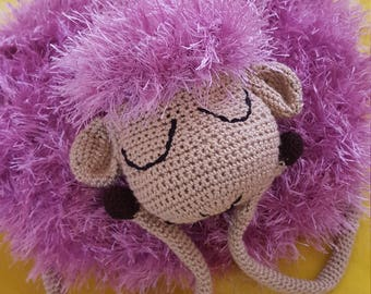 Toy-pillow sheep for children