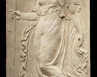 Greek Maenad (Left Facing) - Frieze