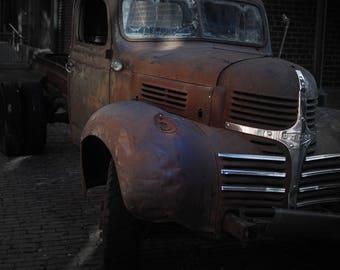 Dodge Truck; art; photograph; photography; photo; vintage; Toronto; Distillery;