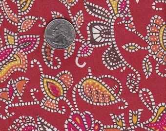 paisley art fabric - 100% cotton
