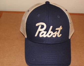 New Pabst Cap/Retro Beer