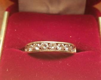 1 Carat Round Diamond Wedding Band