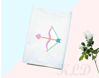 Cupid's arrow embroidery design. PES. Instant Download. {KLD004}