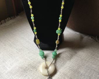 Long with chain tassle