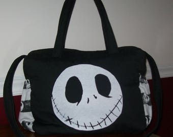 Nightmare before Christmas   JACK FACE DIAPER bag/tote