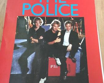 1984 The Police Calendar