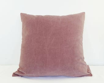 Dusty Pink Indoor Sofa or Bed Cushion