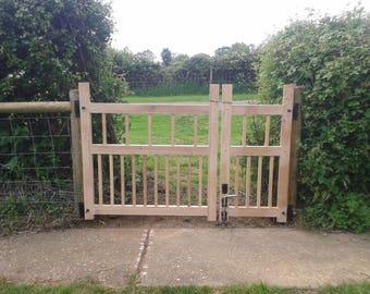 Oak Garden Gate
