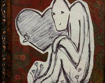 Stupino {whimsical heartwarming hand drawn art }