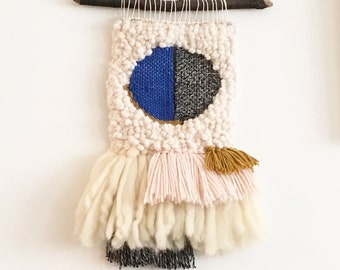 Woven wall hanging: Ready to ship