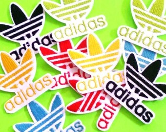 BACK IN STOCK - Adidas Classic Brand Logo Symbol Choose Your Color Iron or Sew On Patch