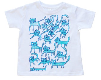 Raining Cats Kids' T-Shirt