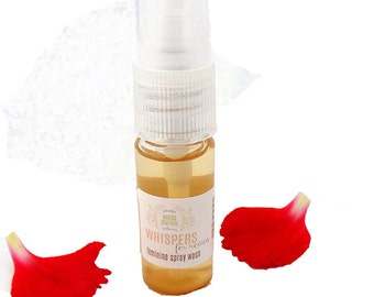 Sample, Whispers for Women Feminine Wash, Vaginal Cleanser, Intimate Cleanser, Yoni Care, Vaginal Care, Feminine Care, Personal Hygiene