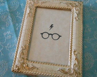 Tiny Art - The Boy Who Lived Glasses and Bolt