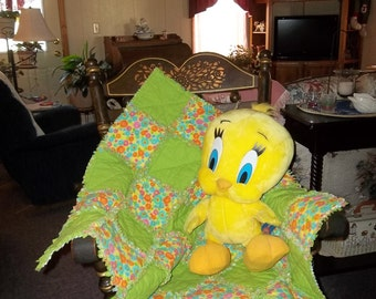Finished Baby Rag Quilt