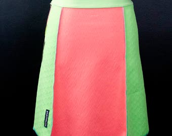 Electric Watermelon  A-Line Skirt   Multiple Sizes