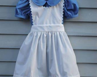 Girl's,  size 8/10,  Alice in Wonderland costume.