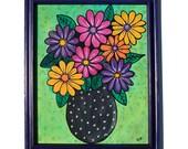 Gerber Daisy Painting - C...