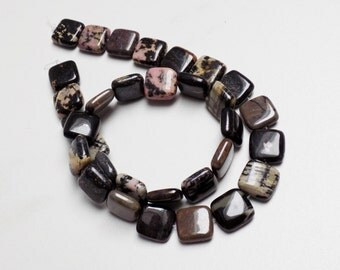 Natural Rhodonite beads