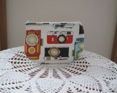 Vintage Cameras Coin Business Card Clutch Zipper Small Essential Oils Case Gift Card Holder in  Made in the USA