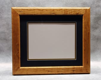 Beautiful Diploma Frame, Solid Cherry, Perfect Graduation Gift for your College Grad