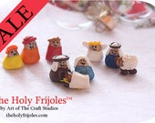 SALE- The Holy Frijoles™ The Pinto Bean Nativity Scene™
