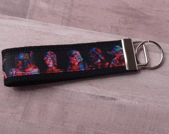 Colorful Star Wars Key Fob