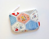 Zipper Pouch, Coin Purse, Change Pouch, Women and Teens, Gift For Her, Cosmetic Case, Makeup Bag