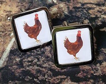 Chicken Cufflinks