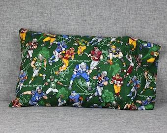 Football Toddler Pillowcase - fits 13 x 18 Travel Pillow
