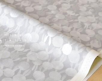 Cotton + Steel Sleep Tight - bunbuns - grey, metallic silver - fat quarter