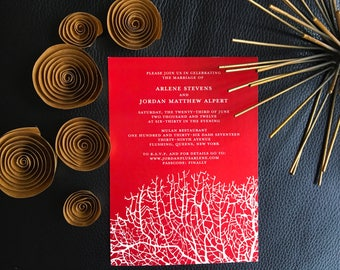 Wedding Invitation Reef Collection-Invitation or Save the Date
