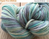 Sale 25% OFF Handpainted Yarn Wool MISTED 210yds 3.5oz Worsted Weight  Aspenmoonarts Hand Painted