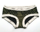 Dot Dash Undies - Handmade Underwear