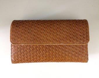 Boho Woven Clutch/Wallet