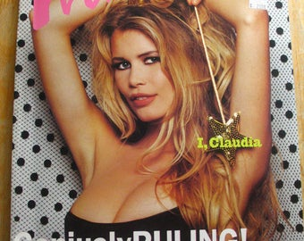 Vintage Interview Magazine-Andy Warhol-Claudia Schiffer-Keith Richards-Matisse
