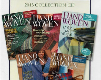 Handwoven Magazine: 2013 Collection CD