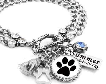 Paw Print Jewelry, Pet Keepsake, Dog Paw Print, Personalized Paw Print, Your Pets Paw Print